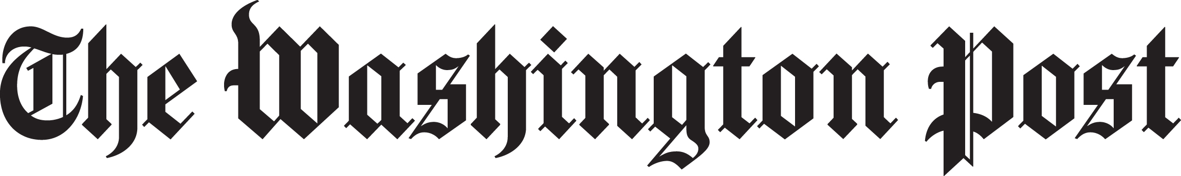 Wash Post logo Black