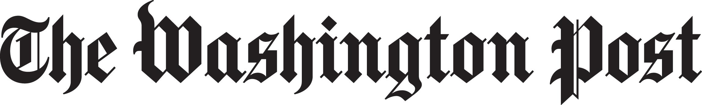 Wash Post logo Black